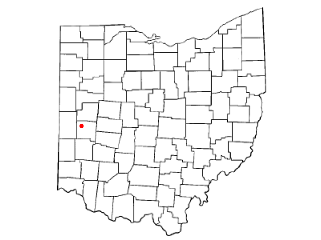 Covington locator map