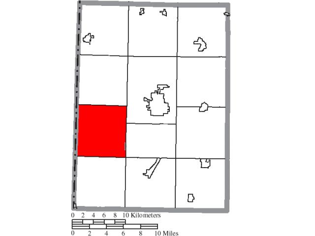 Dixon locator map