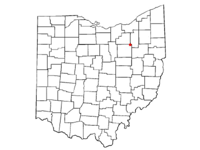 Doylestown locator map