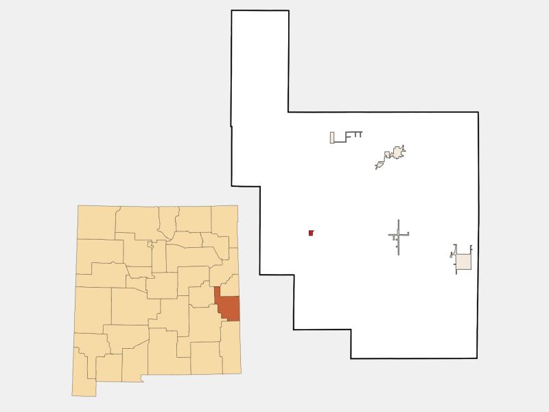 Elida locator map