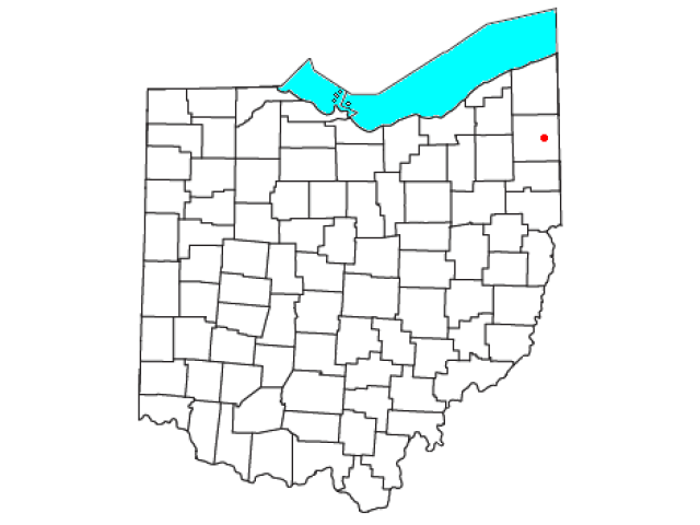 Fowler locator map