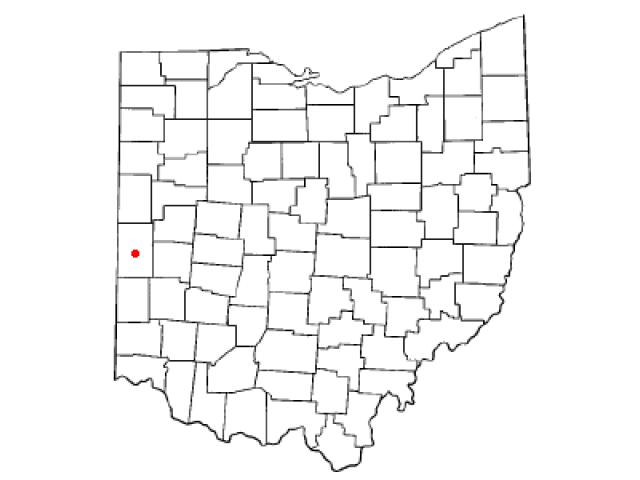 Greenville locator map
