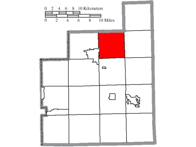 Hambden location map