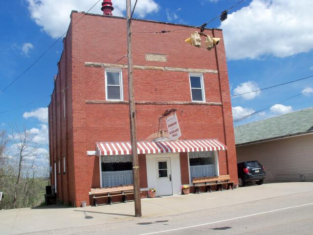 Harrisville  Ohio Fireman and Auxilary Hall image
