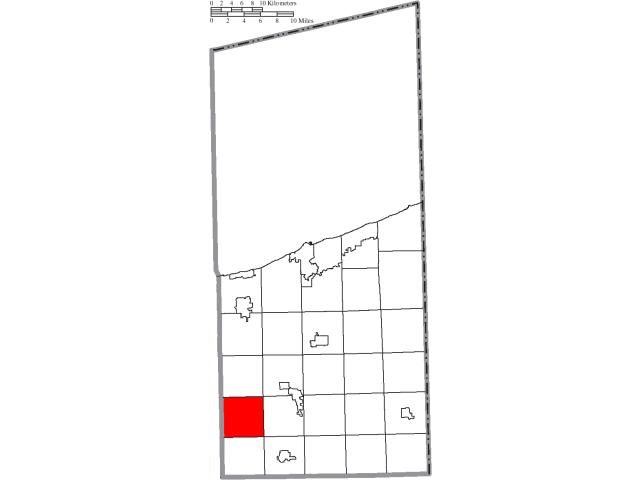 Hartsgrove locator map