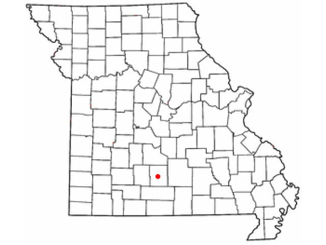 Hartville locator map