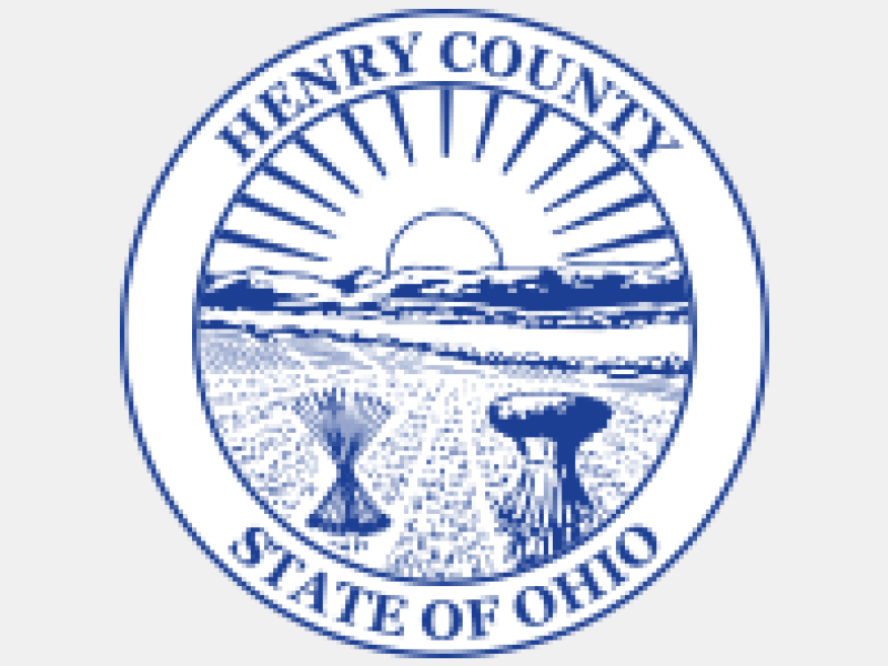 Seal of Henry County Ohio coat of arms image