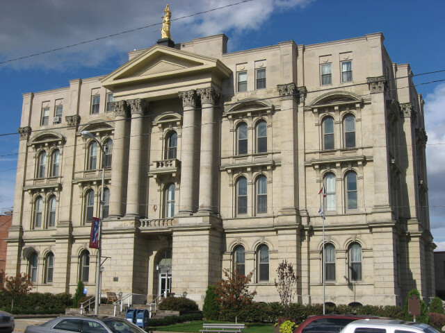 Jefferson County Courthouse in Steubenville image