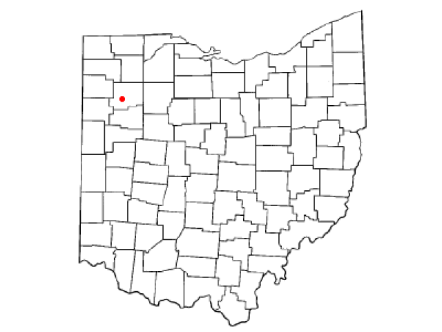 Kalida locator map