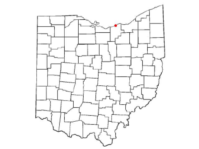 Lorain locator map