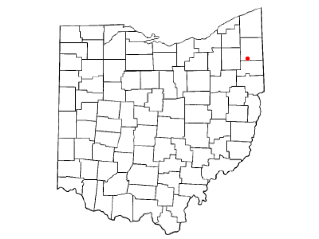 Lordstown locator map