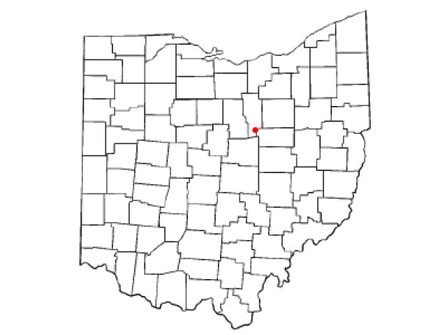 Loudon location map