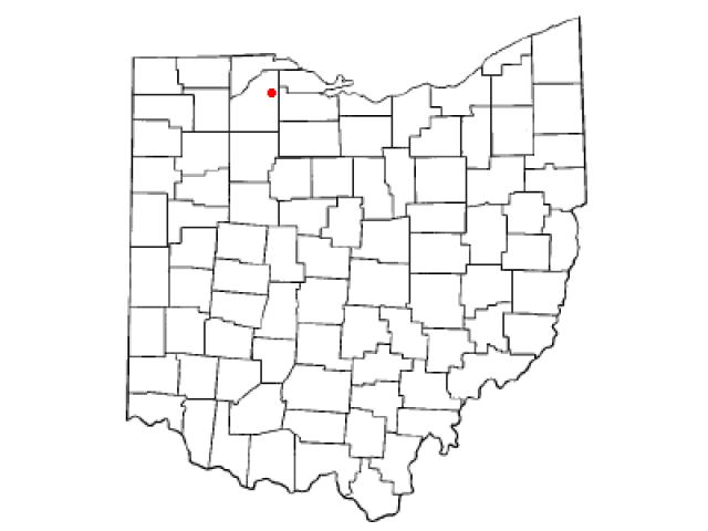 Luckey locator map