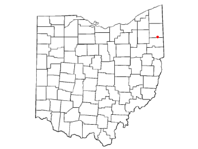 McDonald locator map