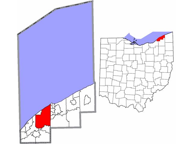 Mentor locator map