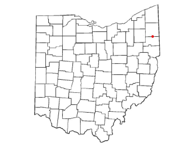 Mineral Ridge locator map