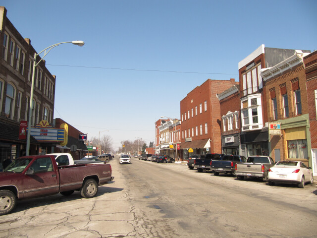 North Baltimore  Ohio as viewed from Main Street-026866 image