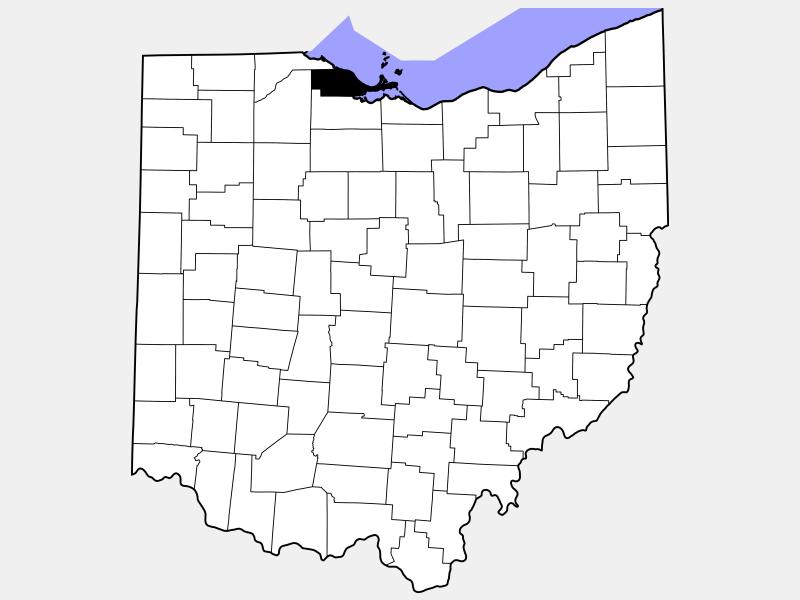 Ottawa County locator map