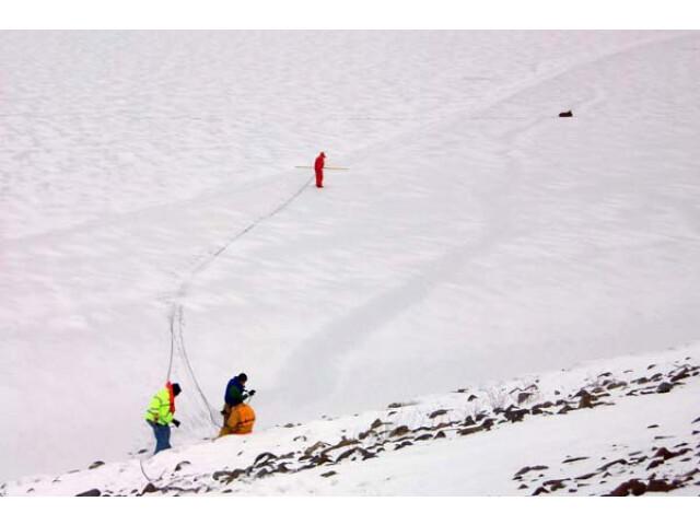 Ice rescue at Corps%27 M.J. Kirwan Dam '5281899788' image
