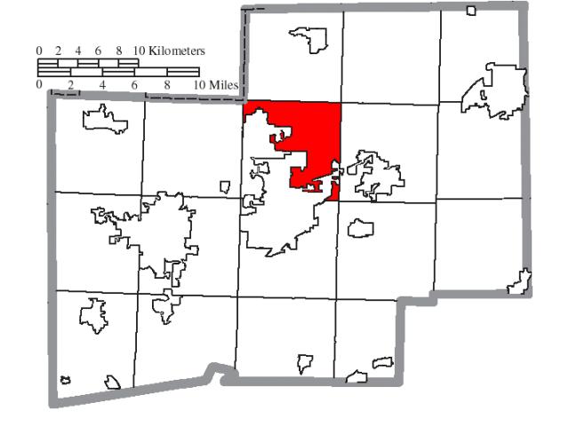 Plain locator map