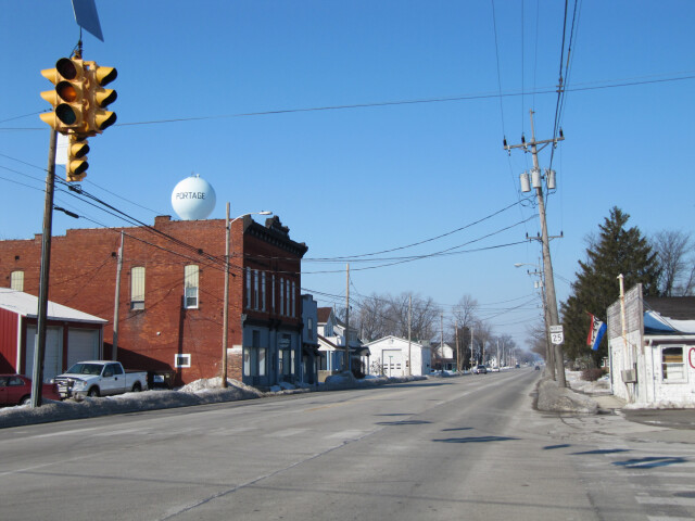 Portage  Ohio viewed from South Dixie Highway-026870 image