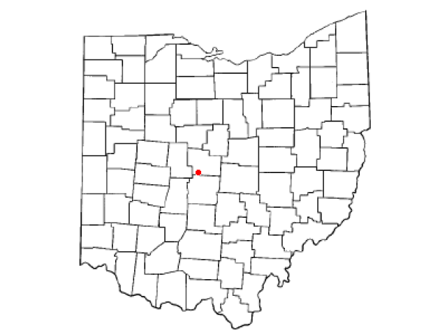 Powell locator map
