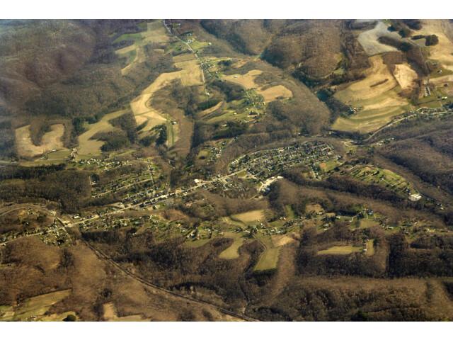 Salineville-ohio-aerial image