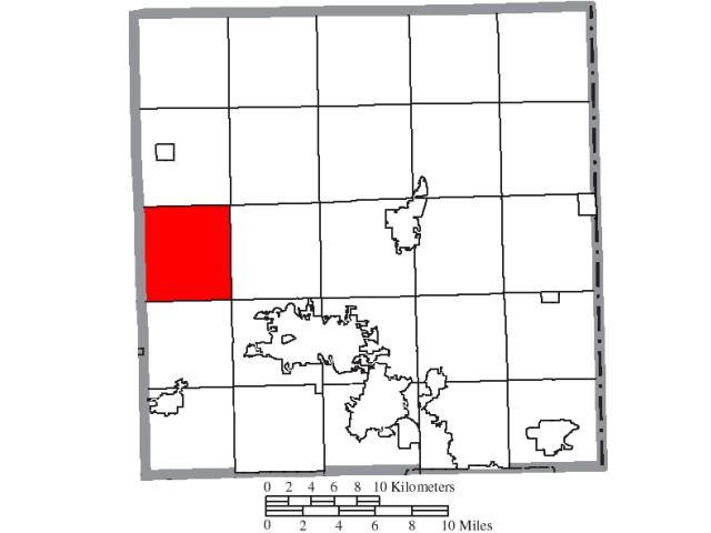 Southington locator map