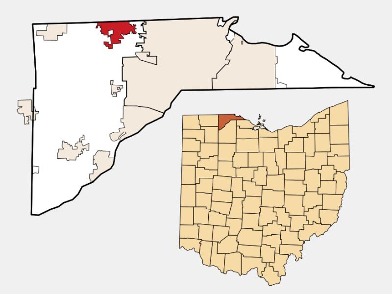 Sylvania locator map