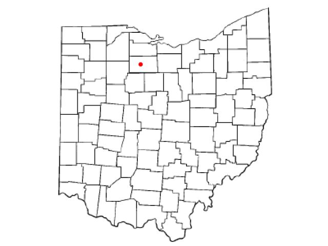 Tiffin location map
