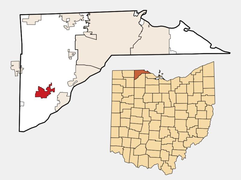 Whitehouse locator map