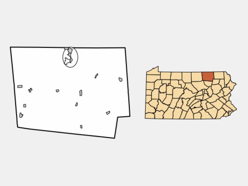 Athens locator map