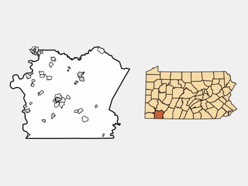 Belle Vernon location map