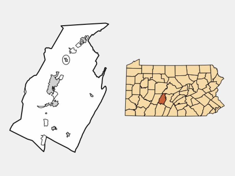 Bellwood locator map