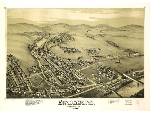 Birdsboro  Berks County  Pa. 1890. image