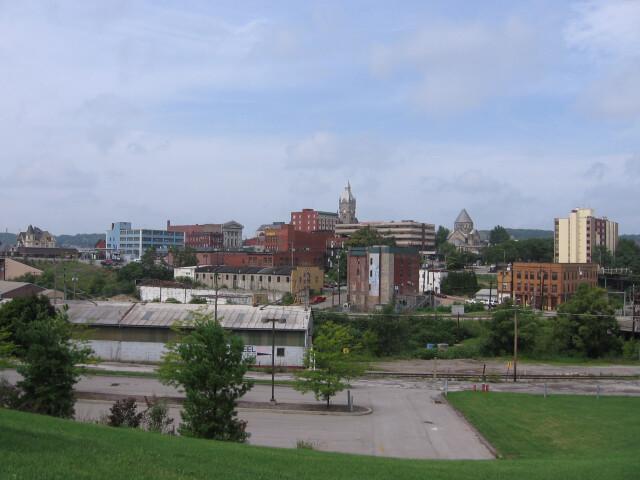 Butler PA skyline image
