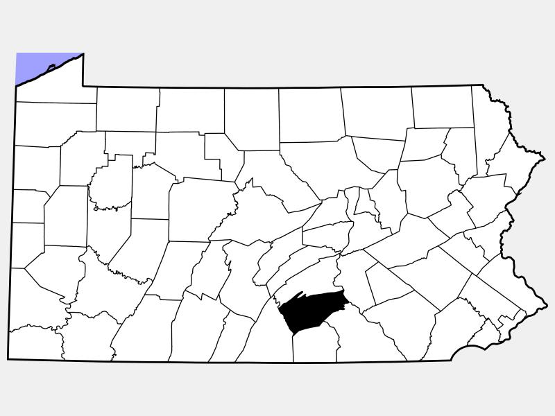 Carlisle locator map