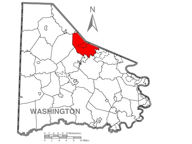 Cecil locator map