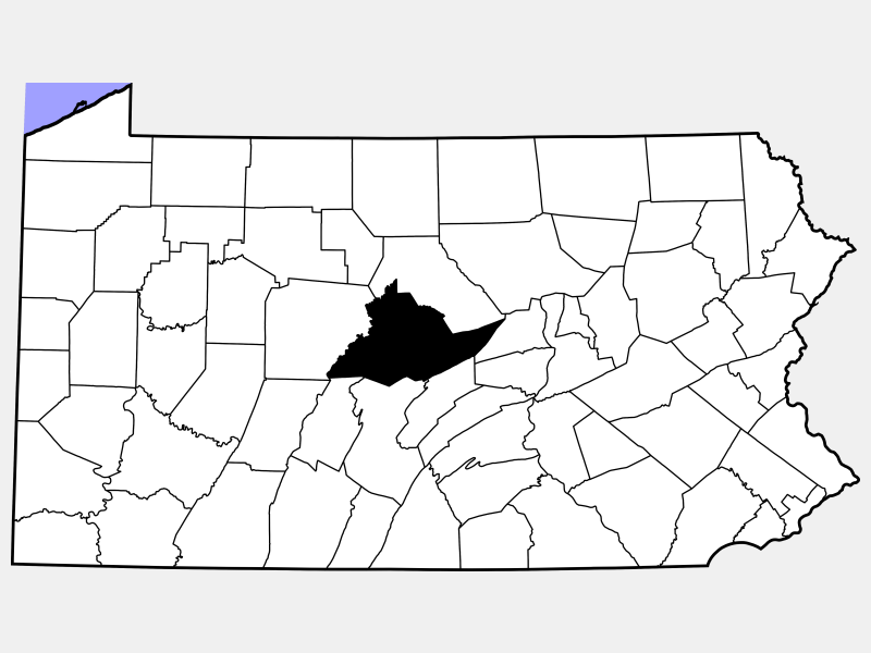 Centre locator map