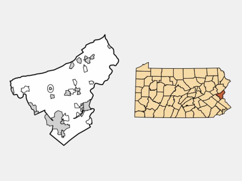 Chapman locator map