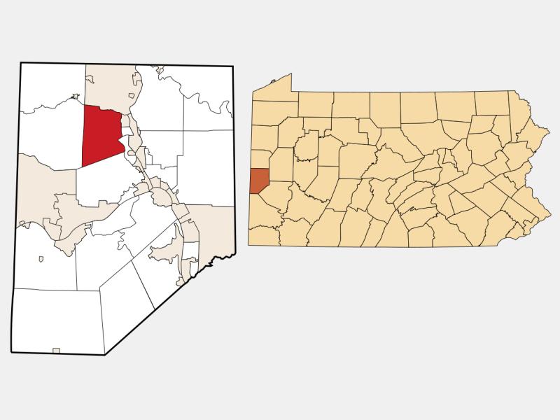 Chippewa location map