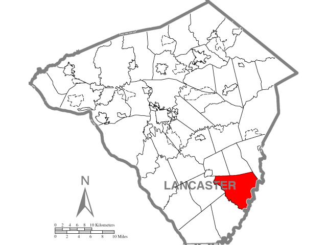 Colerain locator map
