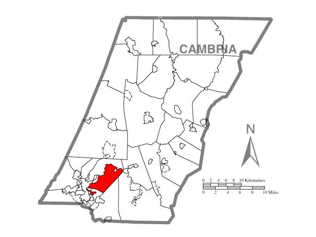 Conemaugh locator map