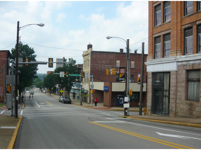 Downtown Connellsville Pennsylvania image