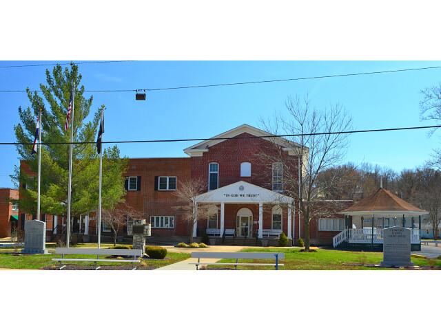 CrawfordCo courthouse Steeleville MO 20140330-6 image