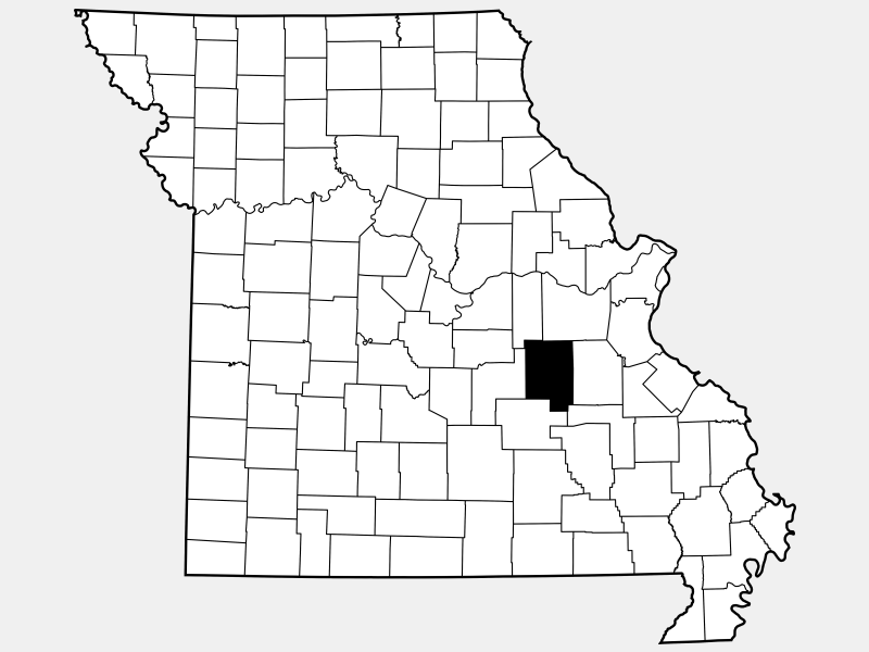Crawford County location map