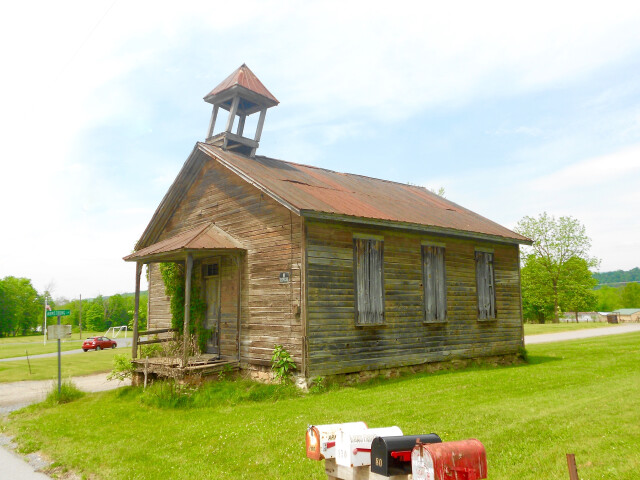 Old schoolhouse Decatur Twp Mifflin Co PA image