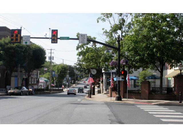 2013 photo of Center Square  Elizabethtown  Pennsylvania  U.S.A. image