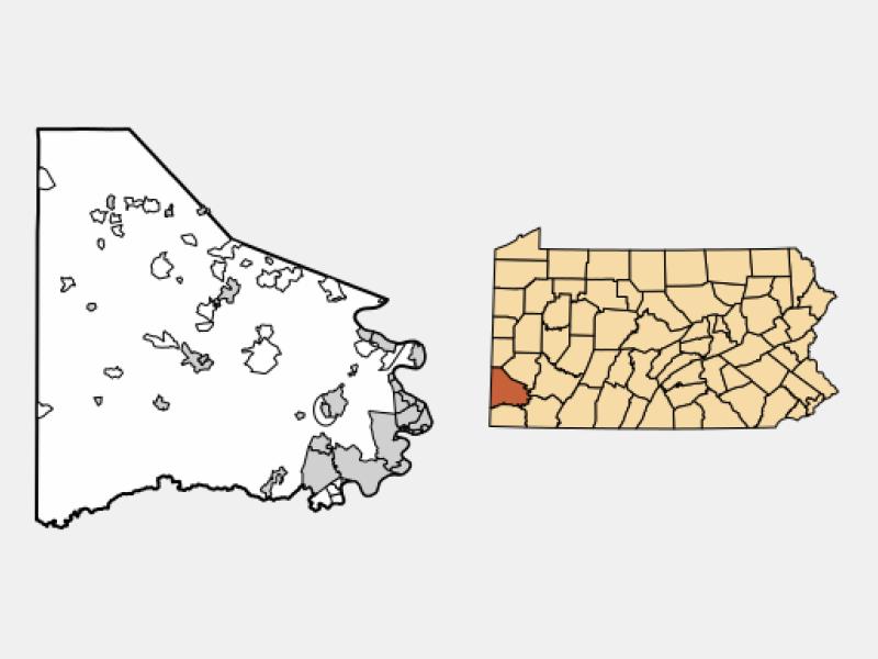 Ellsworth locator map