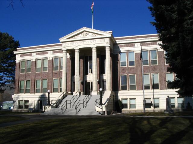 Ephrata  WA - Grant County Courthouse image